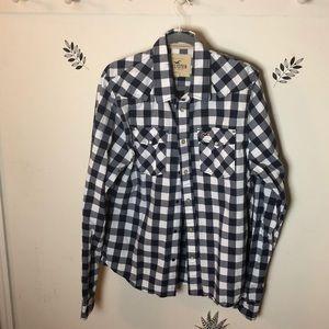 Hollister's men's long sleeve shirt size XL